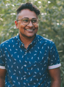 Amil Reddy, Facilitator with The Haven